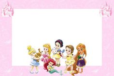 Princesses toddlers Disney: