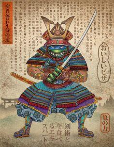 Chet Phillips Samurai Turtle