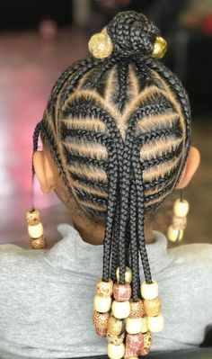 Little Girls Natural Hairstyles, Little Girl Braid Hairstyles, Cute Toddler Hairstyles, Black Kids Hairstyles, Baby Girl Hairstyles, Kids Braided Hairstyles, African Braids Hairstyles, Little Girl Braid Styles, Kid Braid Styles