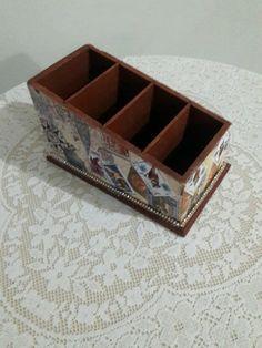 Caixa Porta Controle Selos - Comprar em Box Artesanato