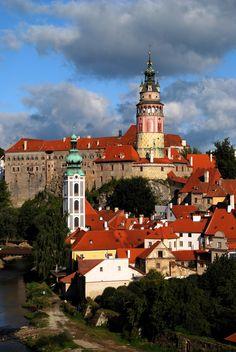 Cesky #Krumlov castle, #Czech republic by www.svasek.eu