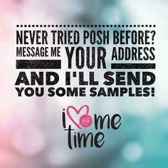 I'm looking for people who want to fall in love with Perfectly Posh and join my team. Message me for details!