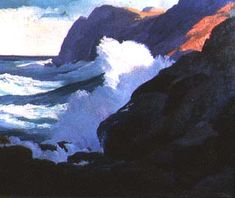 Constance Cochrane, Might and Majesty, c. 1926, oil on canvas, 25 1/2 x 30 inches