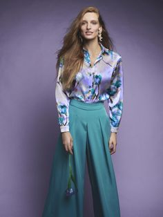 Cut Shirts, Spring Trends, High Waisted Skirt, Capri Pants, Lily, Spring Summer, Chic, Blouse, Skirts