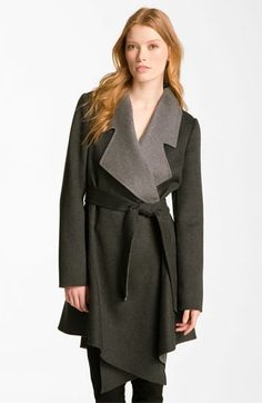 Dawn Levy Wool & Cashmere Wrap Coat available at #Nordstrom