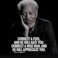 morgan freeman quotes if you think that people think Wise Quotes, Quotable Quotes, Great Quotes, Words Quotes, Funny Quotes, Inspirational Quotes, Wise Old Sayings, Motivational Quotes, Deep Quotes