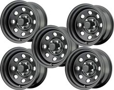 Pro Comp Series 97 Rock Crawler Xtreme Flat Black Steel with Bolt Pattern in Size & Backspacing Qty 5 - Quadratec Rims And Tires, Wheels And Tires, Car Wheels, Pro Comp, Mustang Wheels, Jeep Wrangler Yj, Chrome Wheels, Fuel Gas, Custom Wheels