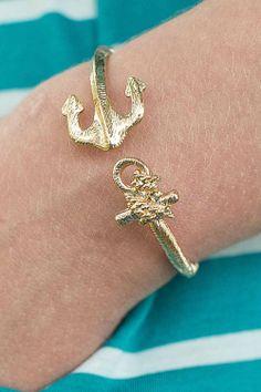 Anchor Gold Bracelet #love - JC's Boutique - www.SHOPJCB.com