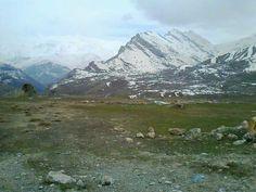 Kaval koyunden kato daği izlenimi