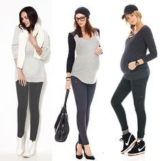 How do you like to wear your #maternity leggings?