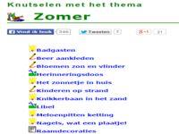 123 Lesidee - Zomer Knutsel.