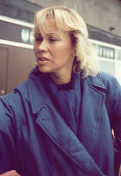 "This photo was taken by a Fan of Agnetha in 1984, a year before the album ""Eyes…"