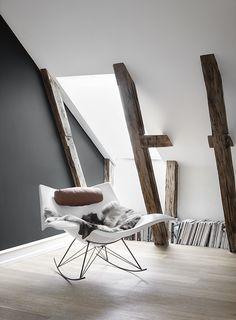 Stingray Gungstol Plast Vit - Fredericia Furniture - Dennys hom