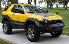 Isuzu VehiCross I love these.. Very rare and was way ahead of its time!
