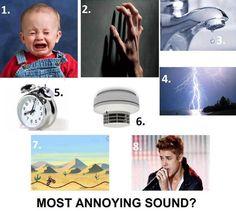 The worst sound is JB