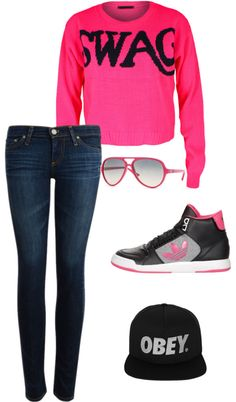 """swag"" by brandyayers on Polyvore"