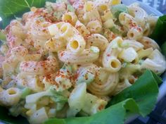 SWEET AMISH MACARONI SALAD:  1 lb salad macaroni 4 hard-boiled eggs (chopped) 1 small onion, finely diced 3 celery ribs, diced small 1 small sweet pepper, seeded and diced small (red or orange) dressing 2 cups light mayonnaise (not Miracle Whip) 1/2 cup sugar 1/8 cup yellow mustard 2 TBSP dill pickle relish 1 TBSP apple cider vinegar 3/4 tsp celery seed 1/4 tsp salt paprika (garnish)