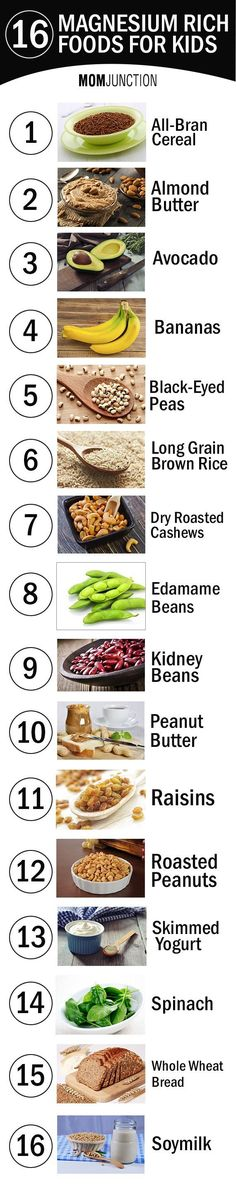 16 Best Magnesium Rich Foods For Your Kids: Let's find out more about this important mineral, how it impacts your child's health, and everything in between.