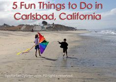 Carlsbad is a family-friendly beach town conveniently located between San Diego and Los Angeles. Here are 5 fun things to do in Carlsbad, California.