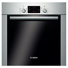 Classixx Built-in single multi-function oven in brushed steel finish.