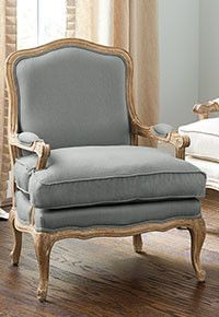 linen with soft, thick & elegant drape. Find more in Ballard Designs' Fabric by the Yard collection. French Furniture, Classic Furniture, Furniture Design, Living Room Decor Traditional, French Chairs, Interior Modern, Interior Design, Living Room Chairs, Manila Rope