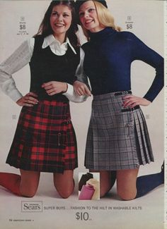 1960's mini-kilts