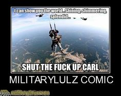 Stfu carl Usmc Humor, Man Humor, Funny Army Memes, Funny Images, Funny Pictures, Military Jokes, Adult Humor, Just For Laughs, Funny People