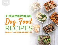 7 Homemade Dog Food Recipes (Paleo + Freeze-Friendly)