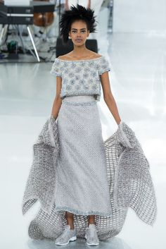 Chanel Spring 2014 Couture Fashion Show - Grace Mahary
