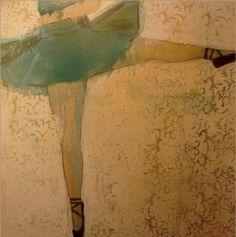 Monica  Adams - In Her Dance - Blue Tutu Blue Tutu, Contemporary Art, Art Gallery, Outdoor Blanket, Paintings, Dance, Artwork, Dancing, Art Museum