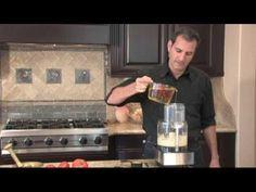 Video for Toum. 1 cup fresh carlic cloves, 4-5 cups oil, juice 1 lemon, 1 tsp salt