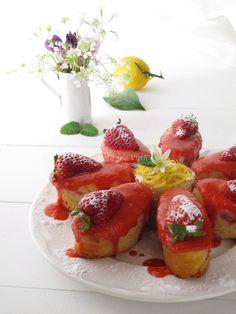 Cake fragola e limone