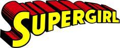 #3018 Large Size SUPERGIRL Logo , Width 8 cm, decal sticker - DecalStar.com