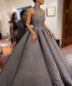 Have #ballgowns like this halter style in any color or any changes. Custom #eveningdresses & replicas can be made at www.dariuscordell.com/