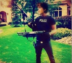 Hiccup Police, For the first time I will love to see a Police at my door!