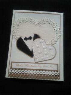 Tarjeta para boda