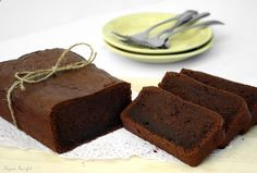 French Homemade Chocolate cake by Delicious Shots, via Flickr
