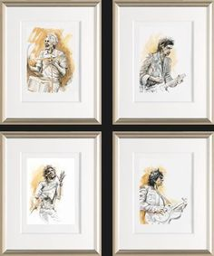 Live Studies by Ronnie Wood