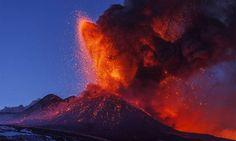 ESKP: Starke Eruptionen am Ätna