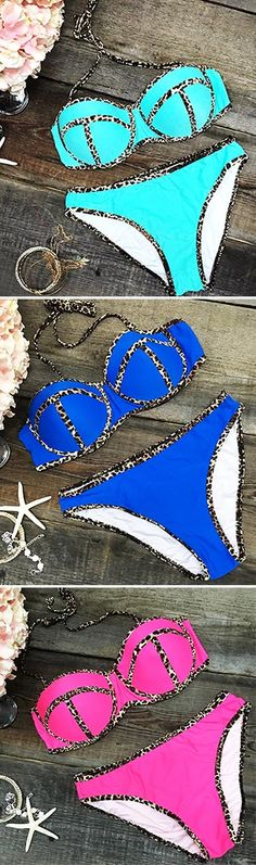 Mixing and matching all of your swimwear is that much better . ONLY $19.99 Now ! Just go for bikini season. More heated ones picked up at Cupshe.com !