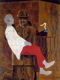"""Max Ernst Best Work   Max Ernst – """"Pieta"""" or """"Revolution by Night"""" (1923) Oil on ..."""
