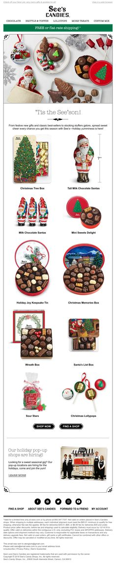 Oh, what YUM—Christmas deliciousness is here! Holiday Emails, Candy, Holiday Decor, Christmas, How To Make, Stuff To Buy, Design, Home Decor, Xmas