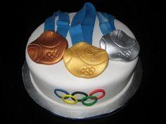 Taryne's Tasty Treats: Olympics Cake