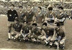 Equipos de fútbol: REAL ZARAGOZA 1968 Homenaje a Yarza
