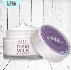 Three Milk Ageless Sleep Cream with Peptides Ageless Cream, Moisturizer, Milk, Pure Products, Southern, Farmhouse, Fresh, Night, Beauty