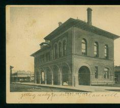 Post Office, Alexandria, La :: LSU Libraries Postcard Collections