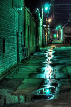 Skid Row by Jared Morrison / Dark Green Aesthetic, Rainbow Aesthetic, City Aesthetic, Aesthetic Colors, Aesthetic Pictures, Green Aesthetic Tumblr, Urban Aesthetic, Aesthetic Clothes, Aesthetic Backgrounds