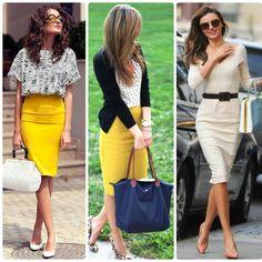 Dicas, Ampulheta, Moda, O que vestir, Decote, Cintura, Físico Ideal, Saia Lápis