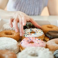 Reduce your rheumatoid arthritis symptoms by avoiding these five common foods and beverages, which include coffee and sugar.