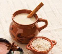 Atole de amaranto Mexican Hot Chocolate, Hot Chocolate Bars, Easy Delicious Recipes, Yummy Food, Atole Recipe, Champurrado, Tamales, Pan Dulce, Vegan Christmas